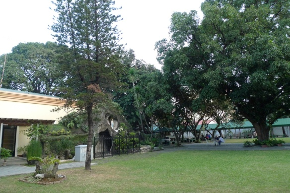 A lot of Sacred Space at Manresa Retreat House in Quezon City